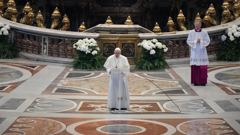 Пасхальное послание Папы Франциска Граду и всему миру 2020. Фото Ватикана
